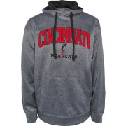 Champion Men's Cincinnati Bearcats Grey Dominate 2 Hoodie