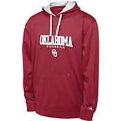 Champion Men's Oklahoma Sooners Crimson T-Formation Performance Hoodie