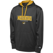 Champion Men's Missouri Tigers Black T-Formation Performance Hoodie