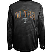 Champion Men's Tennessee Volunteers Black Chrome Long Sleeve T-Shirt