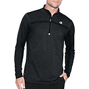Champion Men's PowerFlex Elite Seamless Quarter Zip Long Sleeve Shirt