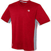 Champion Men's Vapor Heather V-Neck T-Shirt