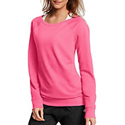 Champion Women's French Terry Long Sleeve Shirt