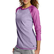 Champion Women's Novelty Jersey Long Sleeve Shirt