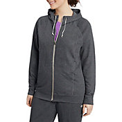 Champion Women's Plus Size French Terry Full Zip Hoodie