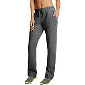 Champion Women's Fleece Open Bottom Pants