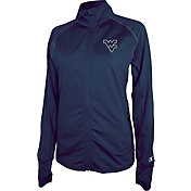 Champion Women's West Virginia Mountaineers Blue Boss Jacket