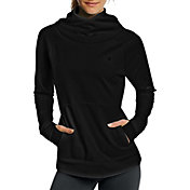 Champion Women's Tech Fleece Funnel Neck Long Sleeve Shirt