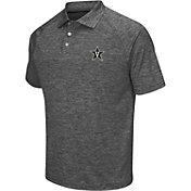 Chiliwear Men's Vanderbilt Commodores Grey Grid Performance Polo
