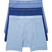 Calvin Klein Men's 6'' Classic Cotton Boxer Briefs 3 Pack