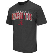 Colosseum Athletics Men's Alabama Crimson Tide Grey Dual-Blend T-Shirt