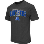 Colosseum Athletics Men's Georgia State Panthers Grey Dual-Blend T-Shirt