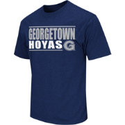 Colosseum Athletics Men's Georgetown Hoyas Blue Dual-Blend T-Shirt