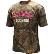 Colosseum Athletics Men's Oklahoma Sooners Camo Trail Performance T-Shirt