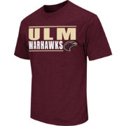 Colosseum Athletics Men's Louisiana-Monroe Warhawks Maroon Dual-Blend T-Shirt
