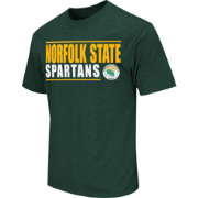 Colosseum Athletics Men's Norfolk State Spartans Green Dual-Blend T-Shirt