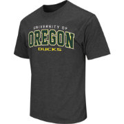 Colosseum Athletics Men's Oregon Ducks Grey Dual-Blend T-Shirt