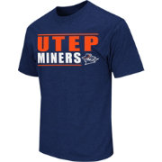 Colosseum Athletics Men's UTEP Miners Navy Dual-Blend T-Shirt