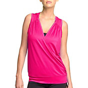Colosseum Women's Drop Needle Drape Sleeveless Hoodie