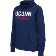 Colosseum Athletics Women's Connecticut Huskies Blue Performance Hoodie