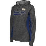 Colosseum Athletics Women's Georgia Tech Yellow Jackets Grey Performance Hoodie