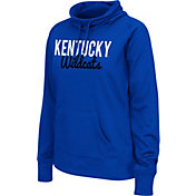 Colosseum Athletics Women's Kentucky Wildcats Blue Performance Hoodie