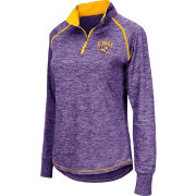 Colosseum Athletics Women's LSU Tigers Purple Bikram Quarter-Zip
