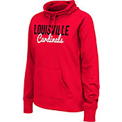 Colosseum Athletics Women's Louisville Cardinals Cardinal Red Performance Hoodie
