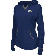 Colosseum Athletics Women's Pittsburgh Panthers Blue Sprinter Pullover Hoodie