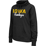 Colosseum Athletics Women's Iowa Hawkeyes Black Performance Hoodie