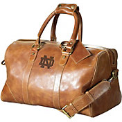 Carolina Sewn Notre Dame Fighting Irish Westbridge Leather Duffel