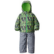 Columbia Toddler Boys' Frosty Slope Bib and Insulated Jacket Set