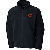 Columbia Men's Auburn Tigers Grey Flaker II Full-Zip Fleece