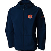 Columbia Men's Auburn Tigers Blue Taylor's Ridge Softshell Jacket