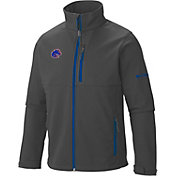 Columbia Men's Boise State Broncos Grey Ascender Soft Shell Jacket
