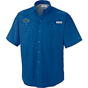 Columbia Men's Florida Gators Blue Tamiami Performance Shirt