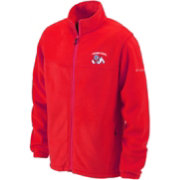 Columbia Men's Fresno State Bulldogs Cardinal Flanker Full-Zip Fleece Jacket