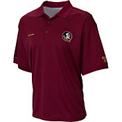 Columbia Men's Florida State Seminoles Garnet Perfect Polo