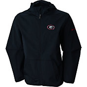 Columbia Men's Georgia Bulldogs Taylor's Ridge Softshell Black Jacket