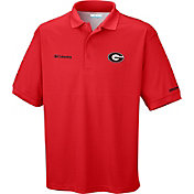 Columbia Men's Georgia Bulldogs Red Perfect Cast Performance Polo