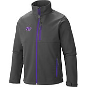 Columbia Men's Kansas State Wildcats Grey Ascender Soft Shell Jacket