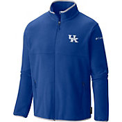 Columbia Men's Kentucky Wildcats Blue Fuller Ridge Fleece Jacket
