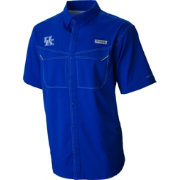 Columbia Men's Kentucky Wildcats Blue Low Drag Offshore Performance Shirt