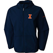Columbia Men's Illinois Fighting Illini Blue Taylor's Ridge Softshell Jacket
