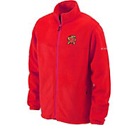 Columbia Men's Maryland Terrapins Red Flanker Full-Zip Fleece Jacket