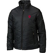 Columbia Men's Indiana Hoosiers Mighty Lite Black Jacket