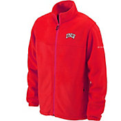 Columbia Men's UNLV Rebels Scarlet Flanker Full-Zip Fleece Jacket