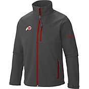 Columbia Men's Utah Utes Grey Ascender Soft Shell Jacket
