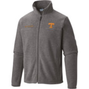 Columbia Men's Tennessee Volunteers Grey Flanker II Full-Zip Fleece