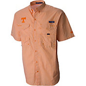 Columbia Men's Tennessee Volunteers Tennessee Orange Super Bonehead Short Sleeve Shirt